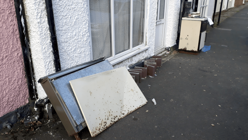 Appeal for information on serious fly-tipping incidents in Ludlow