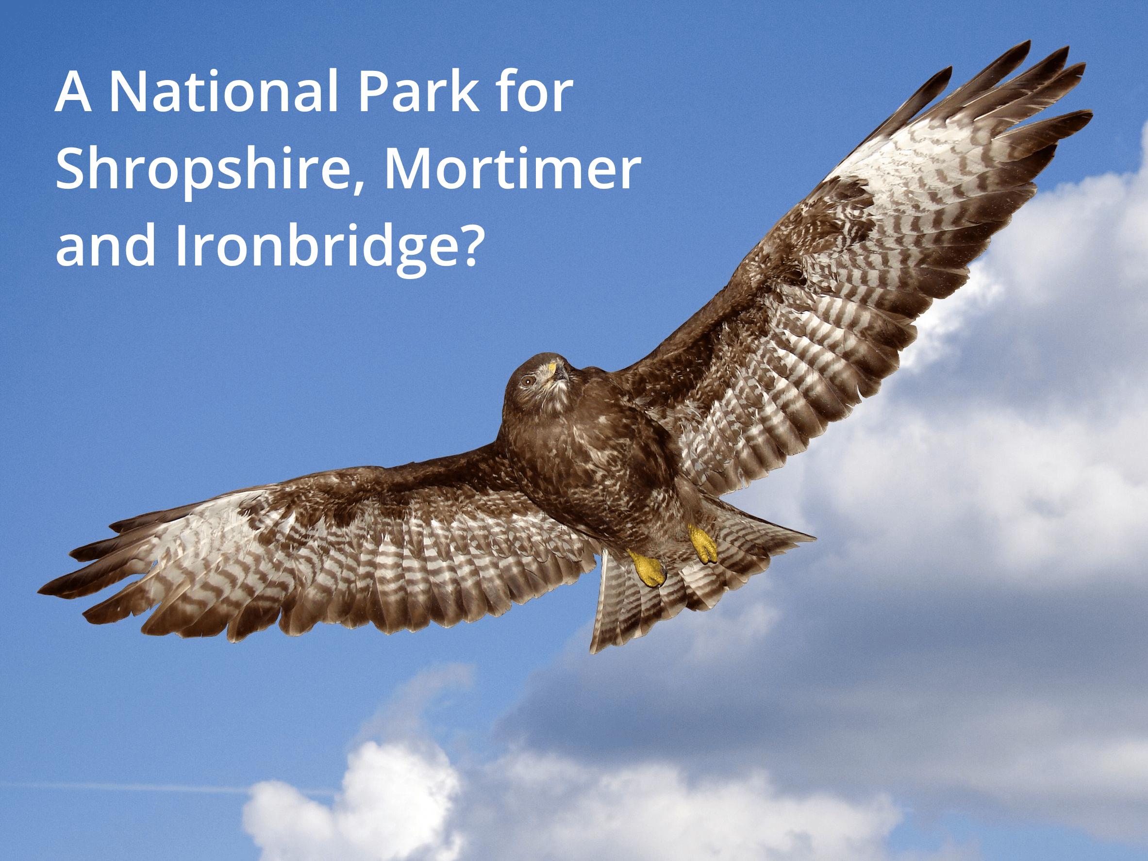 Join us in Ludlow for the national park debate tomorrow, Thursday 29 November