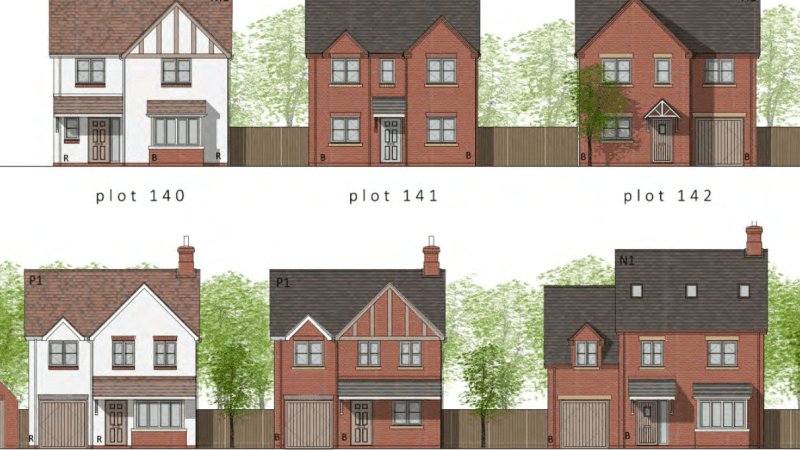 Final plans for more than homes off Bromfield Road, Ludlow announced – generally good but improvement needed