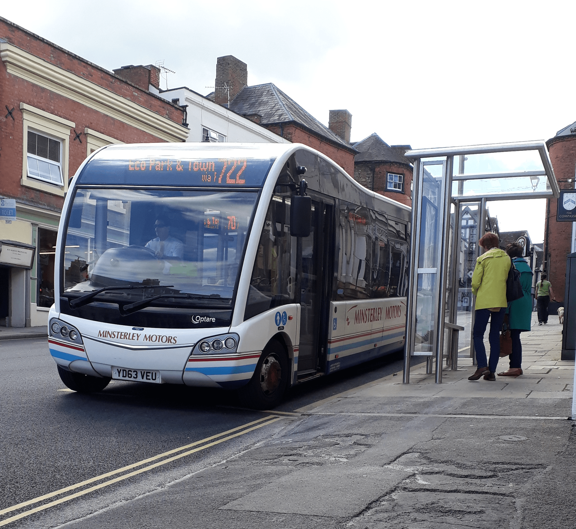 FIT strategy for Shropshire buses published as mood changes against bus cuts