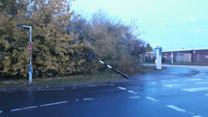 Bashed Belisha Beacon is just the latest instance of street furniture wrecking in Ludlow