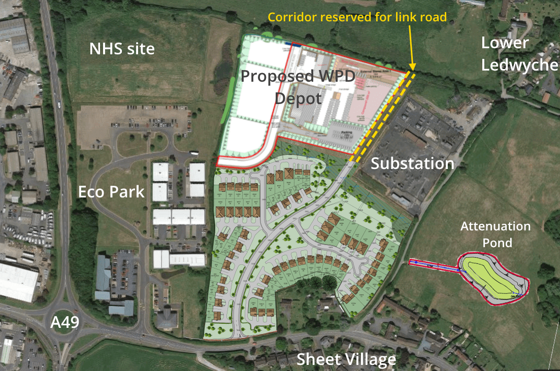 Western Power Distribution gets permission to move to out of town site in Ludford