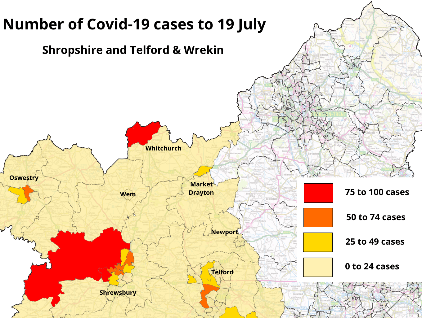 Covid Watch – no coronavirus cases in Ludlow for nine weeks – peak over but signs of a county uptick in cases