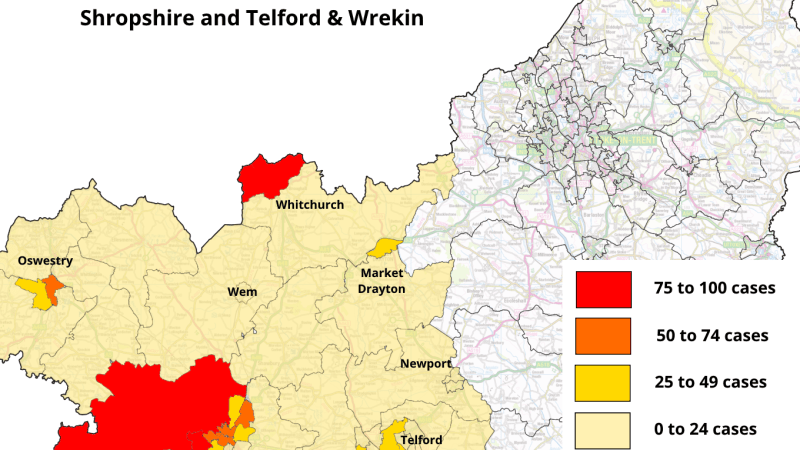 Covid Watch 69: no coronavirus cases in Ludlow for nine weeks – peak over but signs of a county uptick in cases