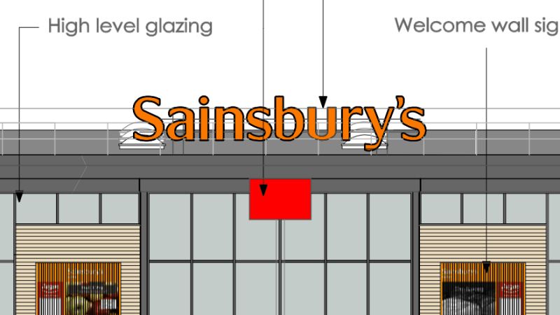 The future is orange – Sainsbury's to build supermarket with Argos at Ludlow Rocks Green