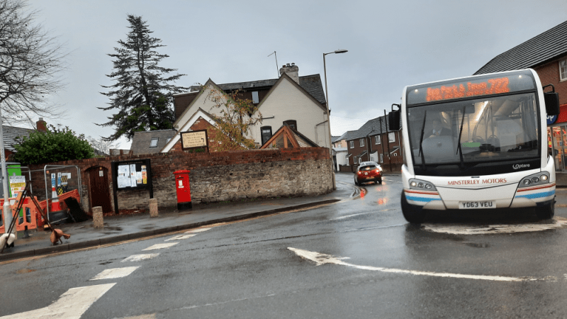 Shropshire Council rules out free park and ride buses in Ludlow to help the town recover because it is not Shrewsbury