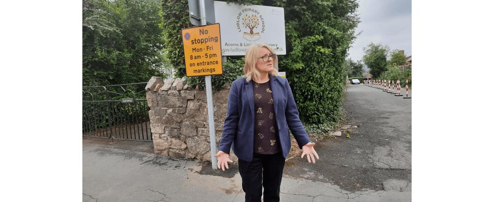 Hump with no bump: Ludlow Sandpits traffic calming scheme speeds up traffic!