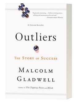 Outliers by Malcom Gladwell on AndyBondurant