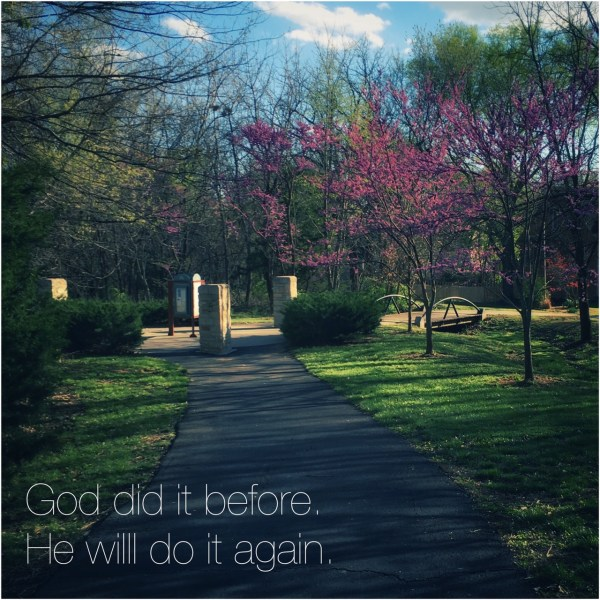 God did it before. God will do it again.