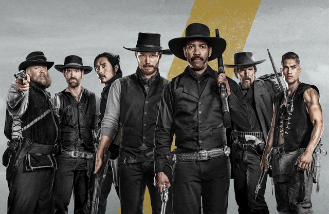 The Magnificent Seven starring Denzel Washington on Andy Bondurant
