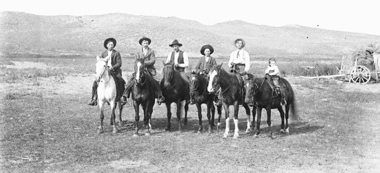 Photo of Mounted Cowboys