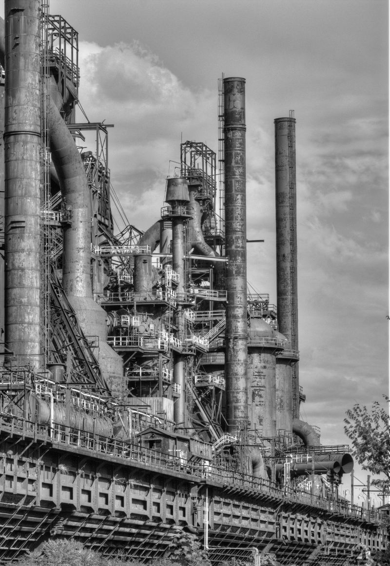 Bethlehem Steel HDR photo