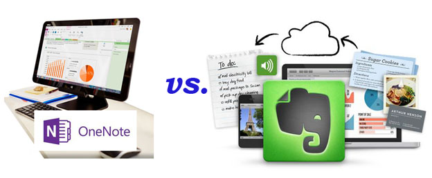OneNote vs. Evernote, on Frugal Guidance 2