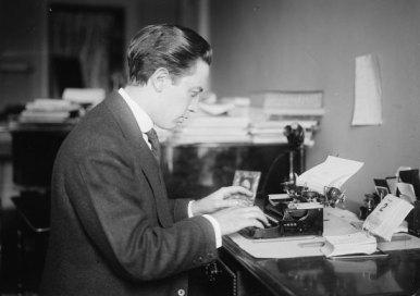 Bonelli at Typewriter