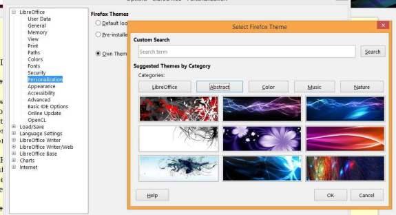 New FF Themes Selection Box