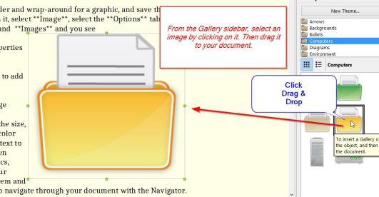 Adding a folder image