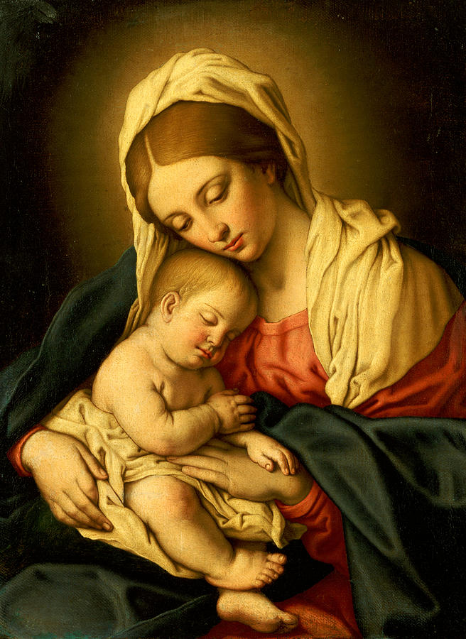 Sassoferrato-Madonna & Child