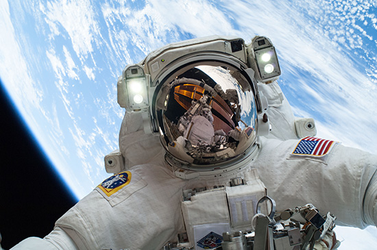 Astronaut Selfie - on Frugal Guidance 2