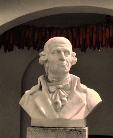 Bust of Franz Joseph Haydn