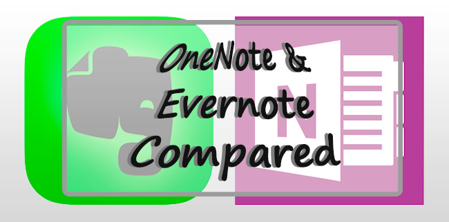 OneNote and Evernote Compared, Part 2 ⋆ Frugal Guidance 2