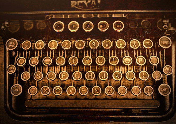 A Rambling Remembrance of Typewriters ⋆ Frugal Guidance 2