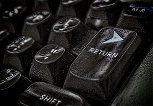 A Return Key detail