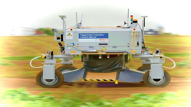 A Bosch Field Robot