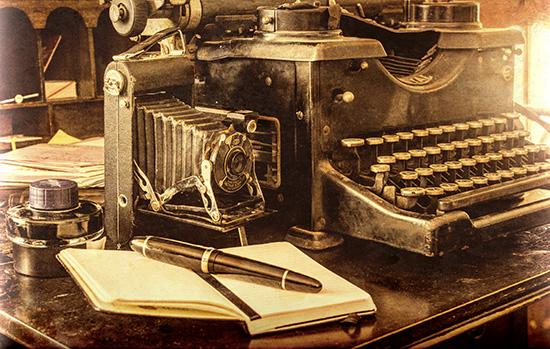 1920s blogging tools