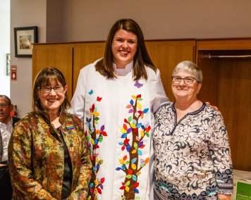 Barb Lough, Hillary MacDonald and Susan Brodrick