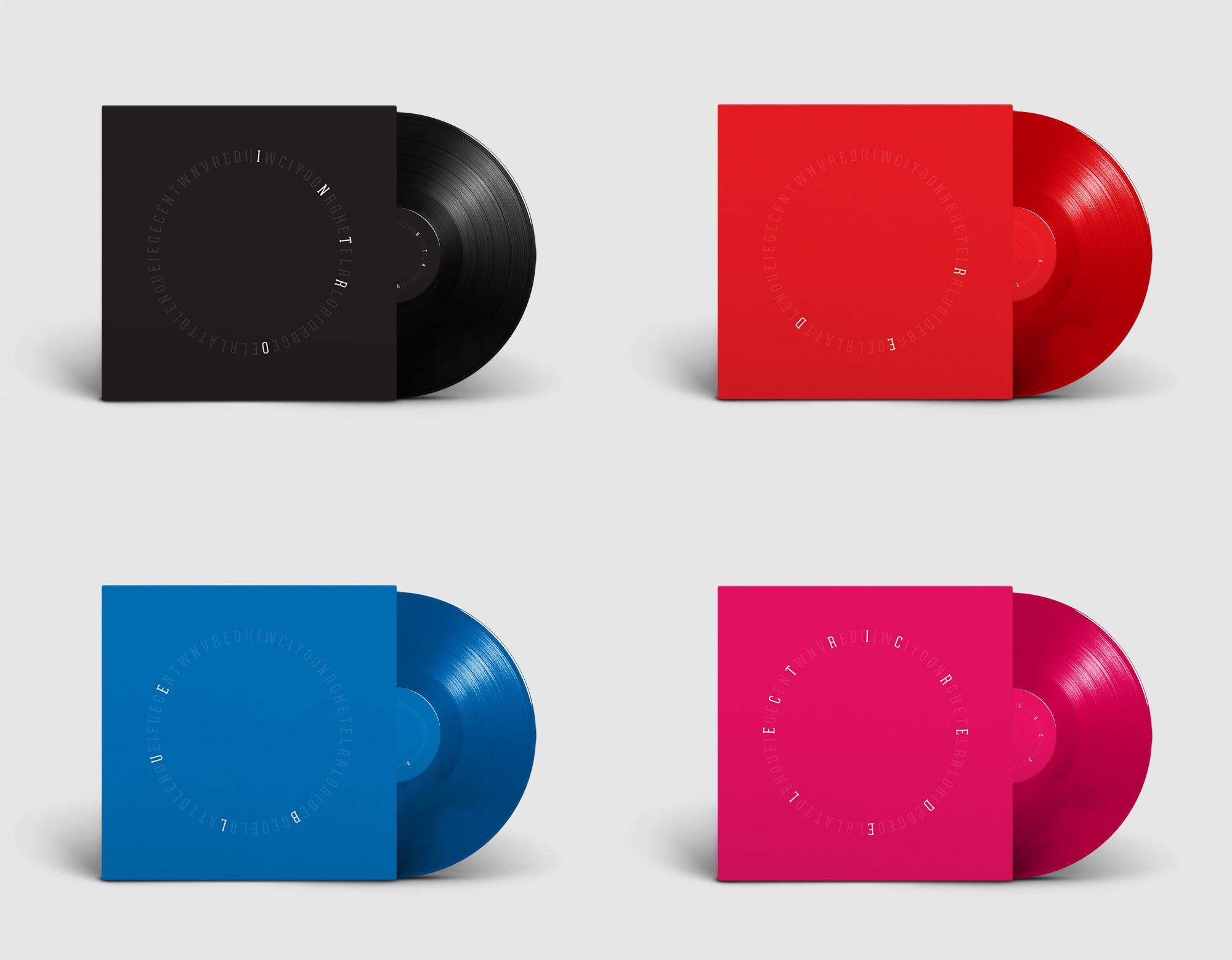 Miles Davis Aura Deluxe Vinyl Box Set - Record Sleeve Design