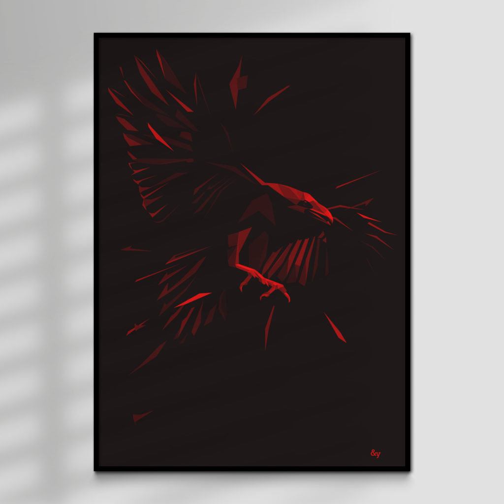 Shadow, high quality giclée print for sale