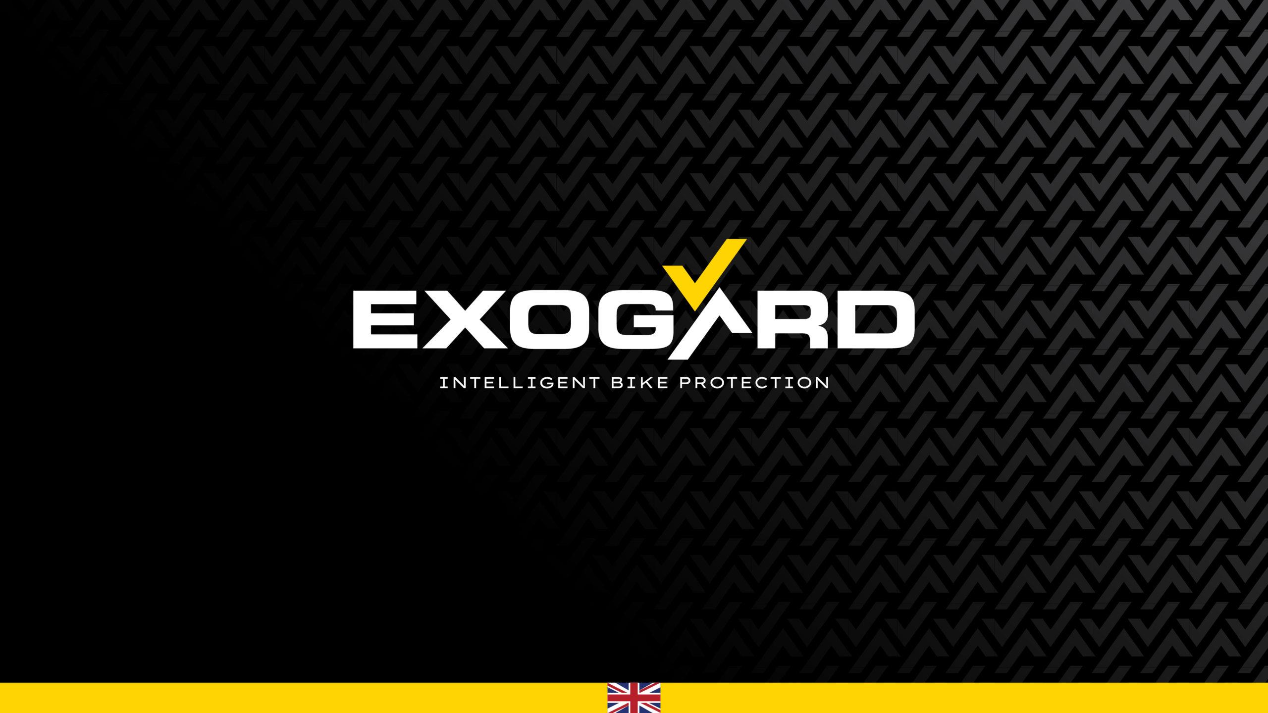 Exogard Visual Identity Title Screen