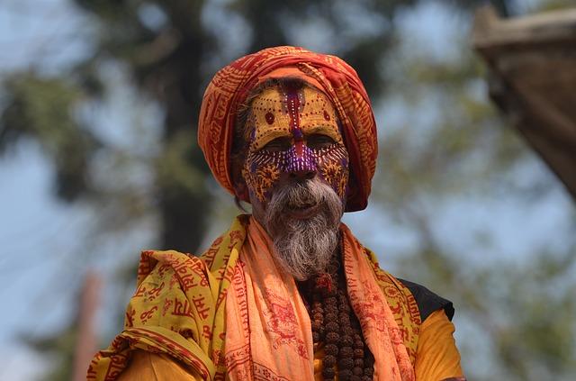 Nepal Sadu Religion Belief Sadhu