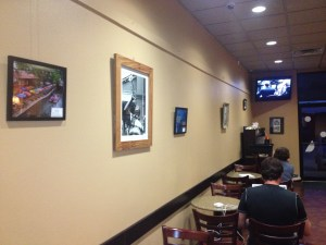 Simply asking the managers of CC's Coffeehouse in Prairieville opened up a public exhibit space for my art.