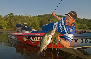 Bass fishing photography by Andy Crawford Photography