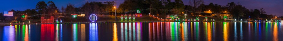 Nachitoches, La.,Festival of Lights