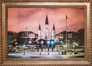 Jackson Square print auctioned for New Orleans Austim Society