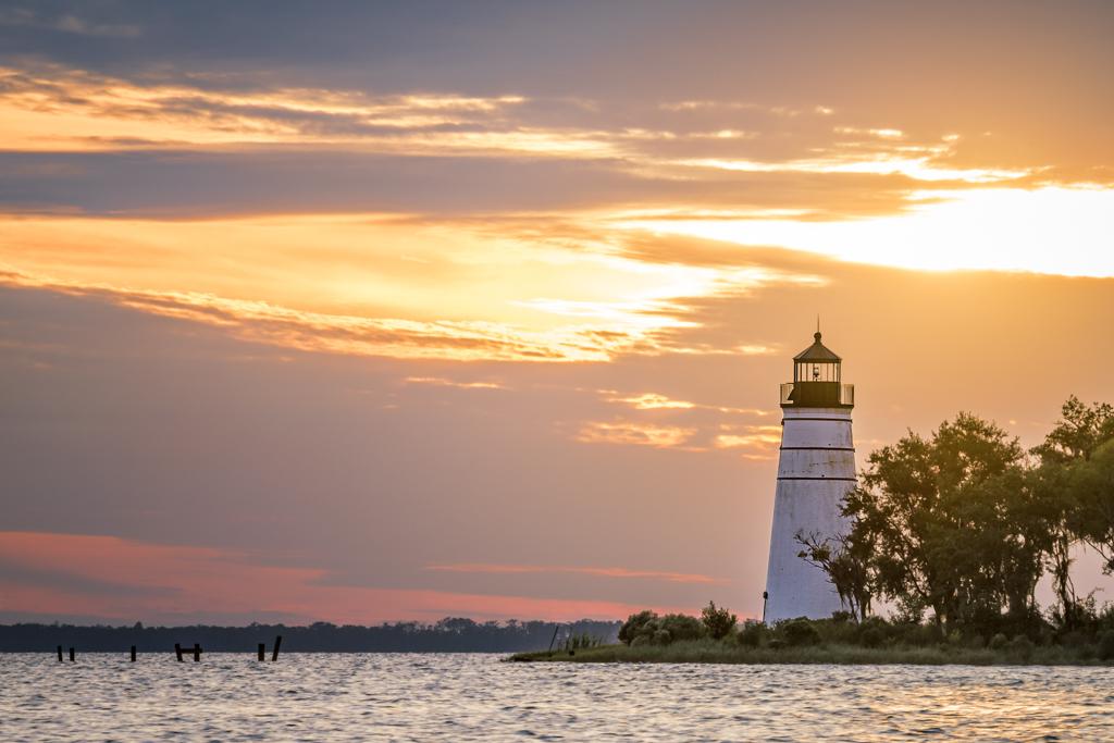 Madisonville lighthouse Tchefuncte River
