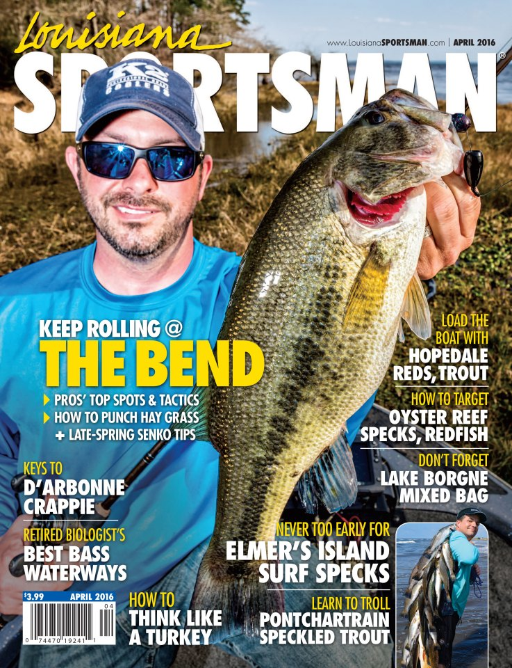 Louisiana Sportsman cover