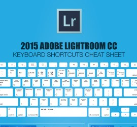Free Lightroom cheatsheet download