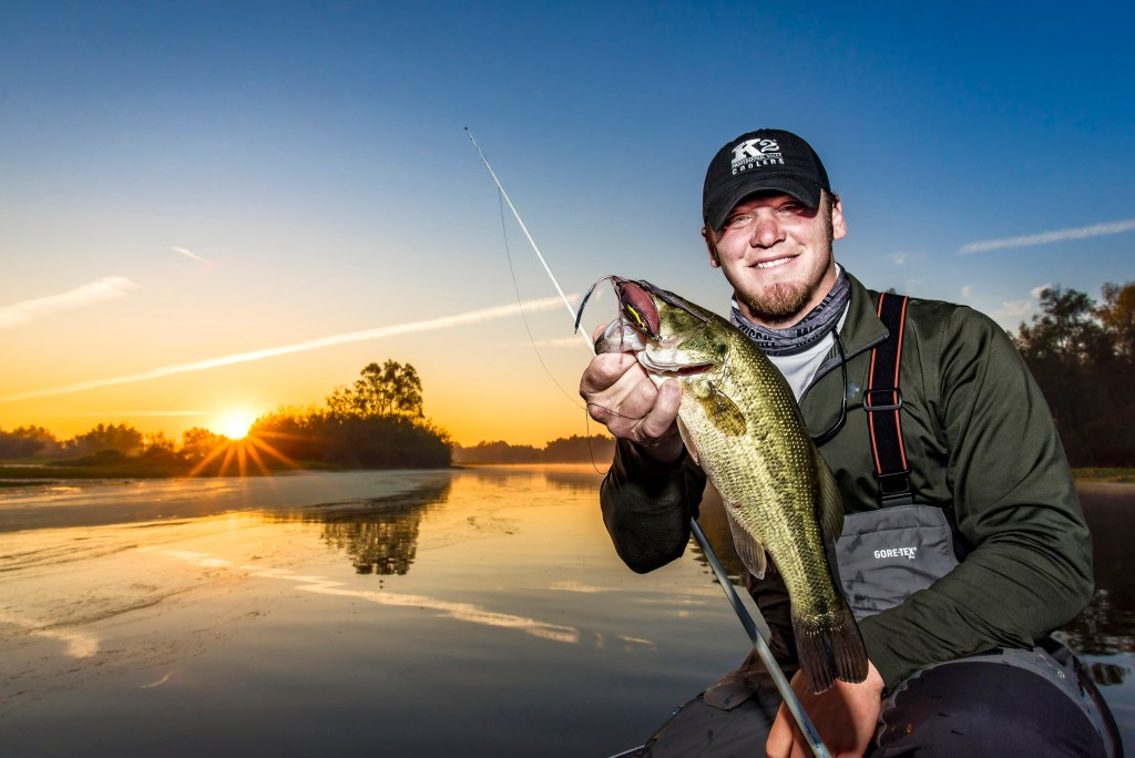 Understanding how to use manual settings and an off-camera flash was critical to producing this image that was published in Louisiana Sportsman magazine.