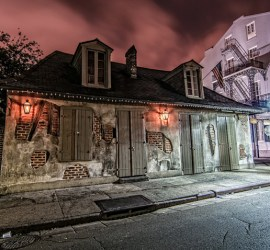 Jean Lafitte's Blacksmith Shop Bourbon Street photography