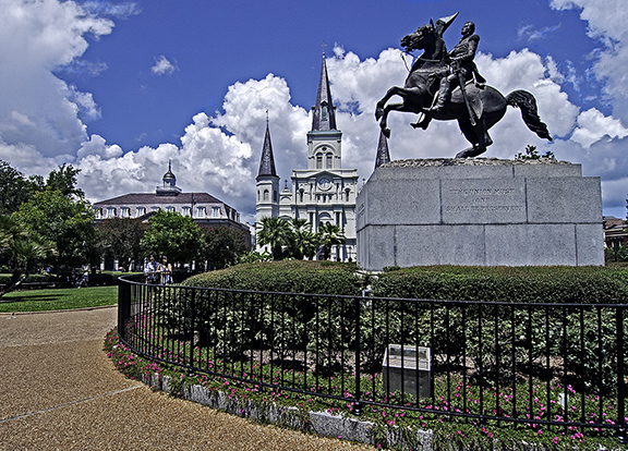 Jackson Square New Orleans photography