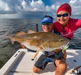 bull redfish photography