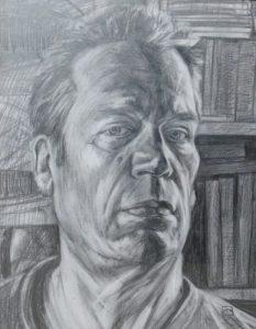 Self Portrait - Graphite On Paper