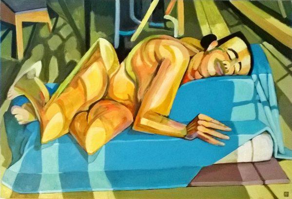 Serenity - Reclining Nude
