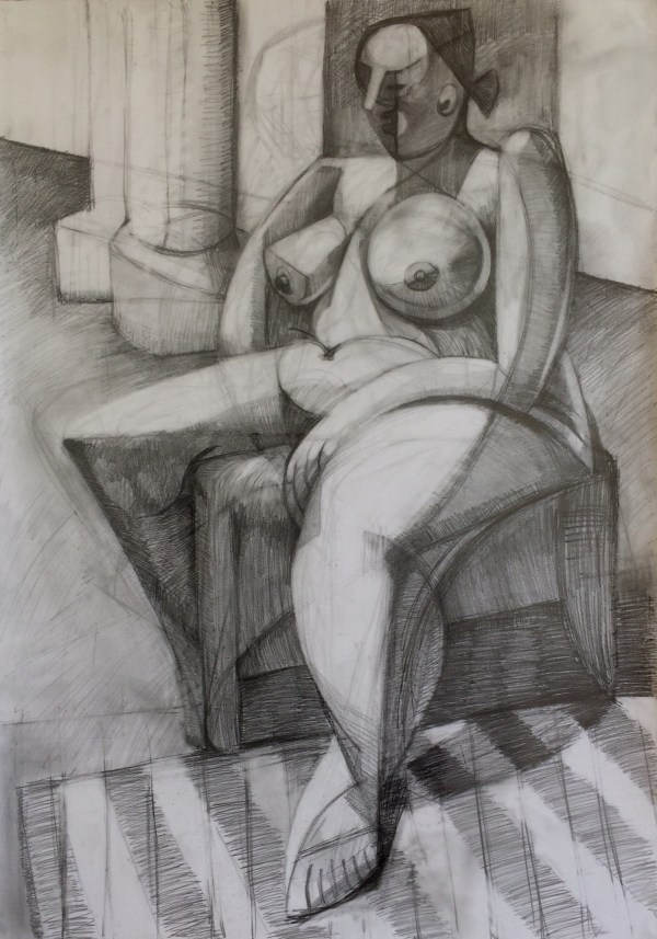 Seated Nudy Study II