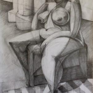 Seated Nudy Study II