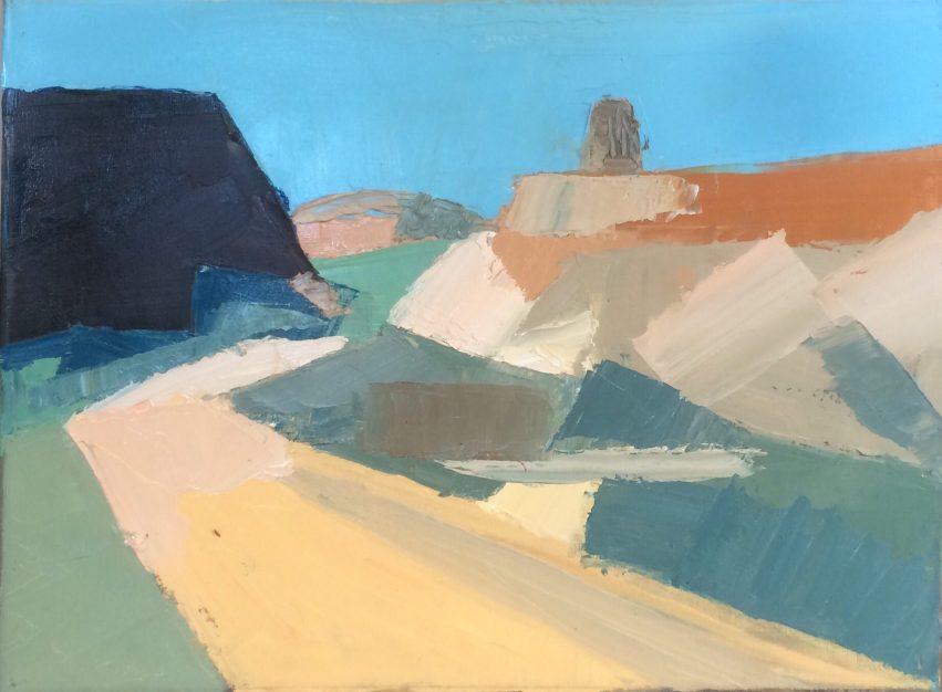 Parys Mountain 20180702 (Oil on canvas 40cm x 30cm)