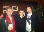 Comedians Jim Ramsey, Andy Hartley, & Chris Fenton at A Comedy Show at Java Joe's in Des Moines, IA... Dec.28, 2013